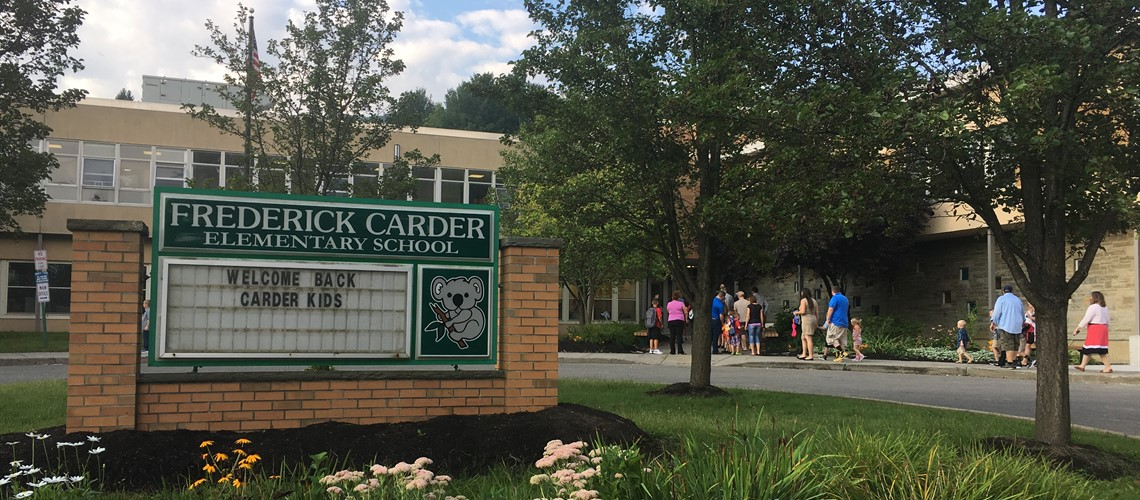 Carder Welcome Back!