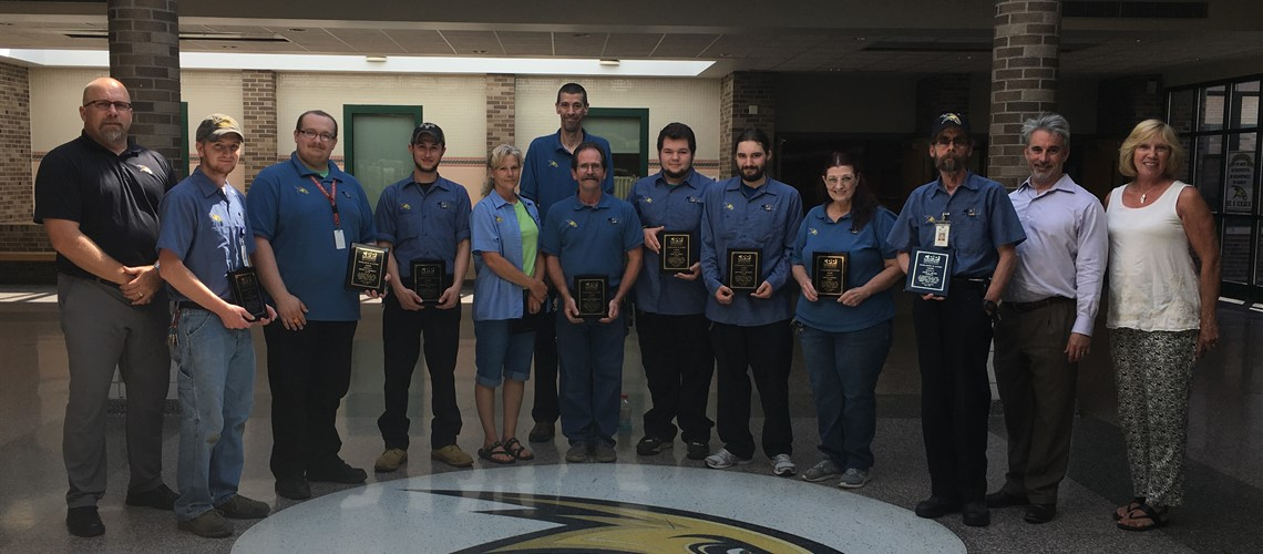 CPPMS Custodians honored by Board